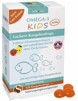 Omega-3 KIDS Jelly à 120 Stk.